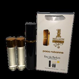 Мини-парфюм с феромонами мужской Paco Rabanne 1 Million Prive 3х15 мл