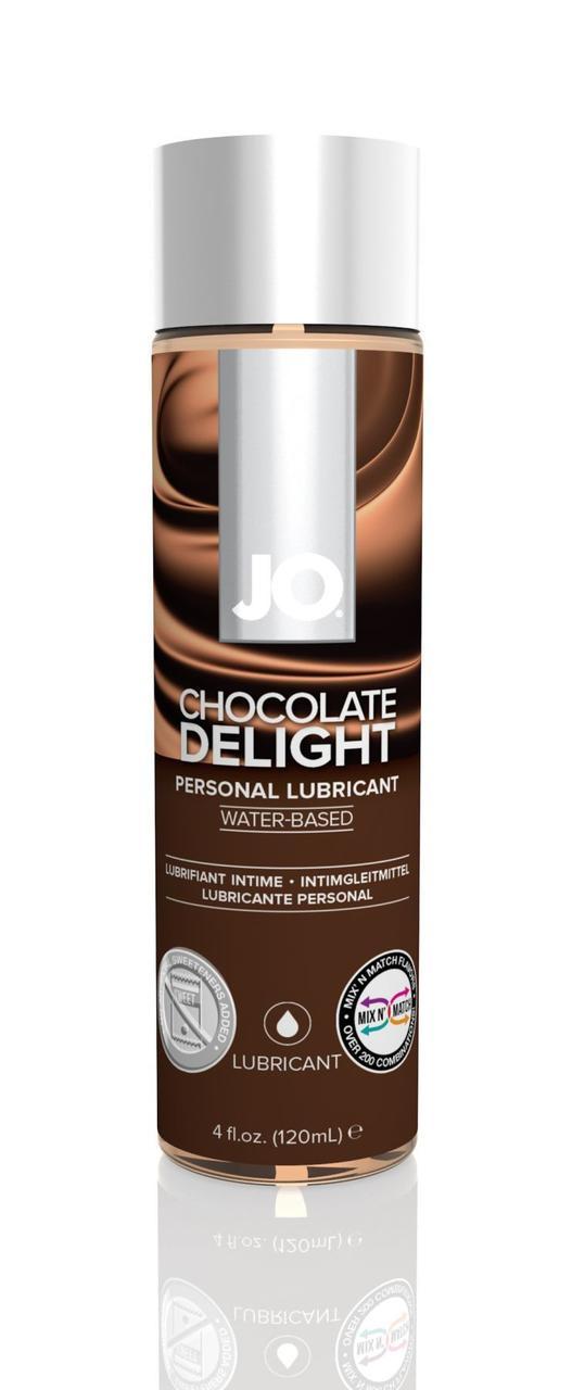 Смазка на водной основе System JO H2O - Chocolate Delight (120 мл) без сахара, растительный глицерин