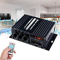 AK370 400 Вт DC 12 В / AC 220 В пульт дистанційного керування Bluetooth система HiFi будинку стерео підсилювач