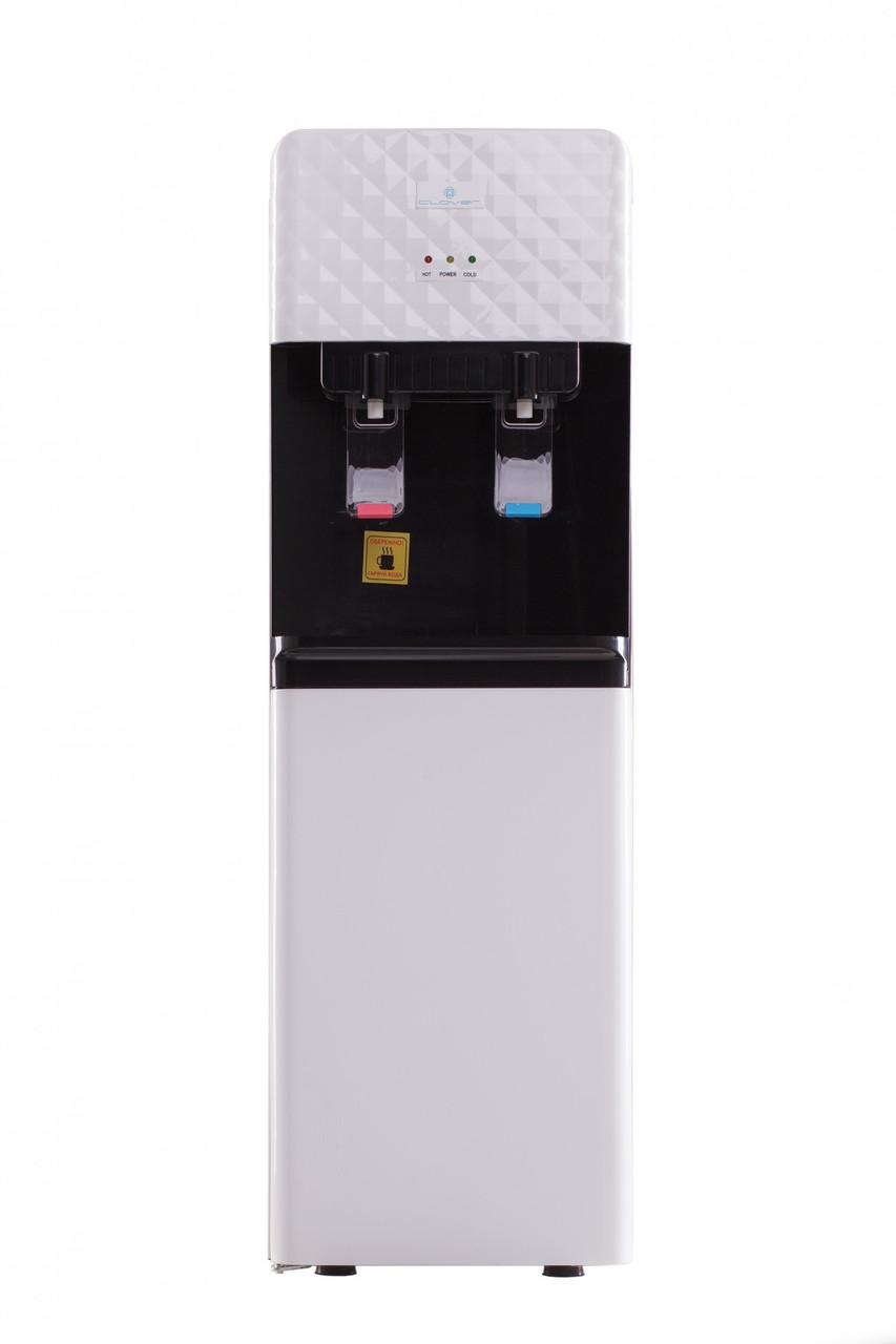 Кулер для воды напольный электронный Clover LB-LWB 0.5-5X88 со шкафчиком нагрев/охлаждение УЦЕНКА