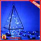 Гирлянда Медная Проволочная Роса Синяя 10 метров! нежная Нить с светодиодами + Подарок!, фото 2