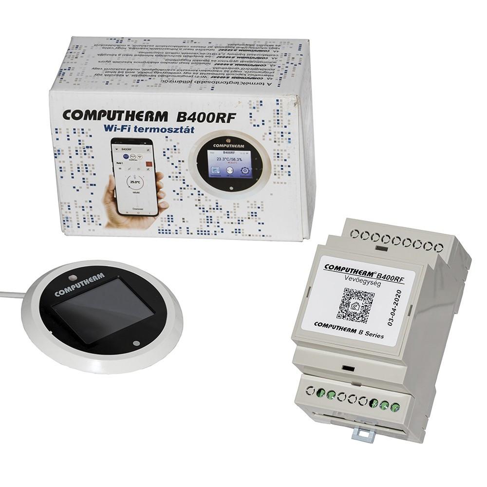 Беспроводной недельный программатор COMPUTHERM B400 RF Wi-Fi