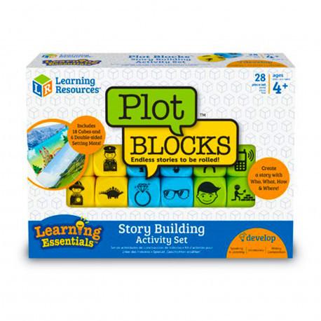 Набір сюжетних кубиків з картками Learning Resources