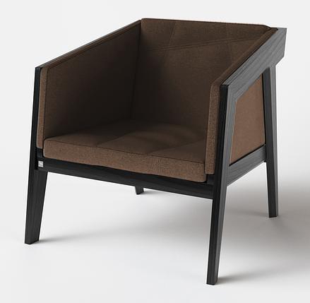Кресло Air 2 Armchair 4 soft black TM Kint, фото 2