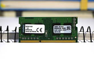 Оперативна пам'ять для ноутбука Samsung DDR3 2GB PC3L-12800s 1600MHz sodimm, б/в