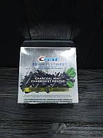 Crest 3D Полоски Для Отбеливания Зубов на основе древесного угля и мяты (28 шт)