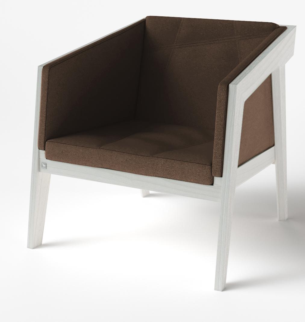 Кресло Air 2 Armchair 4 soft white TM Kint