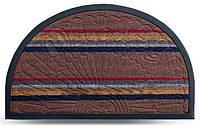 Коврик придверный полукруглый Dariana Multicolor 40x60см