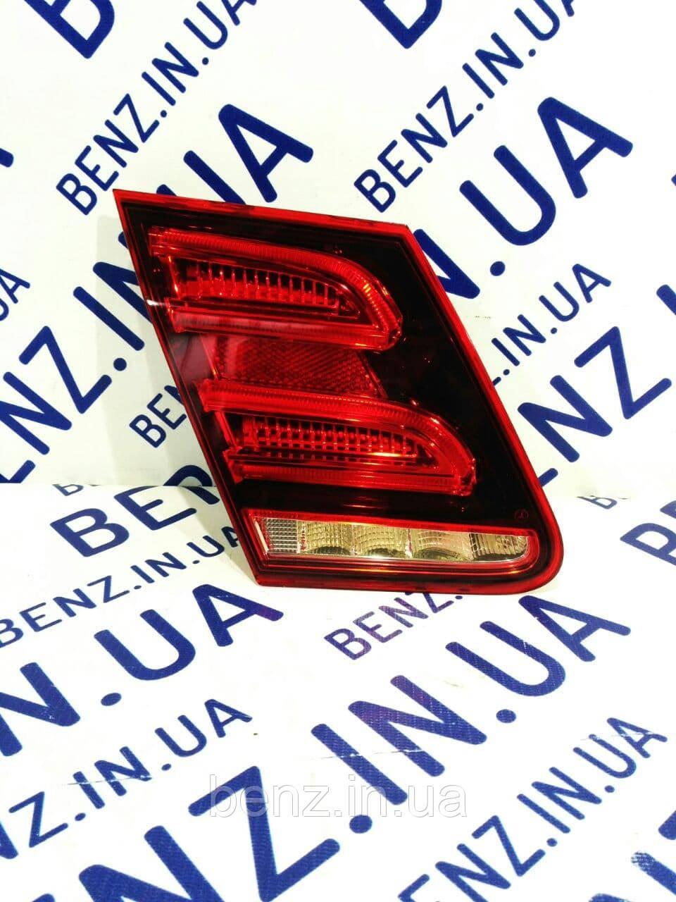 Задний фонарь внутренний левый Mercedes W212 рестайл A2129060903