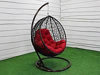 Подвесное кресло-кокон GreenGard Наоми Венге