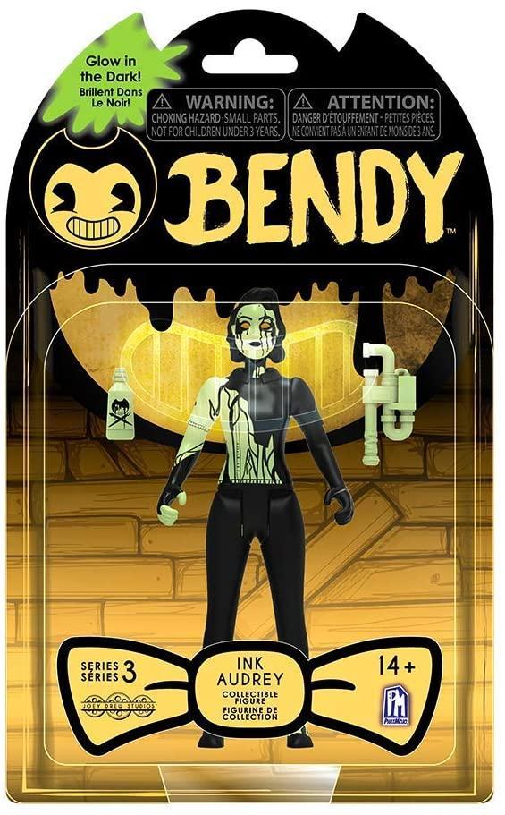 Фигурка Бенди и чернильная машина Одри Темное Возрождение светящийся Audrey Bendy and the ink machine