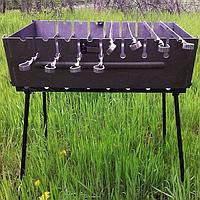 Мангал чемодан складной на 8 шампуров