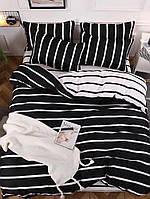Двуспальный комплект постельного белья 180х220 Ранфорс_хлопок 100% (16043)