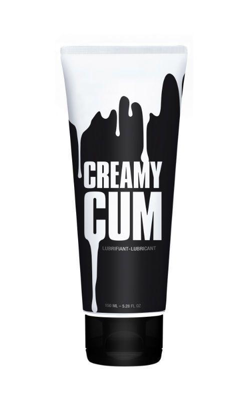Лубрикант имитирующий сперму Creamy Cum (150 мл) на гибридной основе с маслом зверобоя