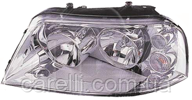 Фара правая хром электро Н7+Н1 для VW SHARAN 2001-10