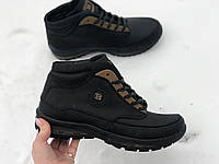 Кожаные зимние ботинки арт 17113 размеры 41,45, фото 1