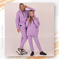 Утепленный подростковый спортивный костюм