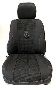 Чохли Мерседес Спринтер II 1+2 2006- Mercedes Sprinter II 1+2 2006- Nika модельний комплект