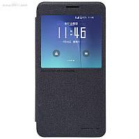 Чехол Nillkin Sparkle Leather Case для Samsung Galaxy Note 5 (N920) Dark Grey