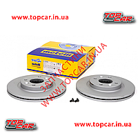 Тормозной диск передний Renault Kangoo I 238mm*20 Maxgear Польша 19-0747