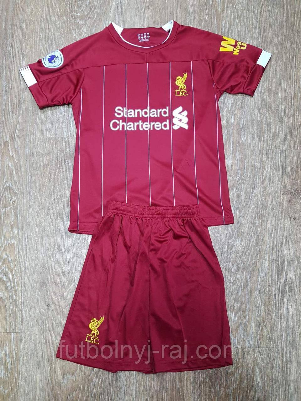 Форма футбольная детская Liverpool.