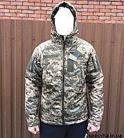 """Демисезонная куртка TermoLoft soft-shell """"Светлый пиксель"""" TERMOLOFT"""