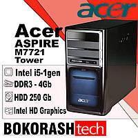 Системний блок  Acer  Aspire  M7721 / Tower-1156 / Intel core I5-1gen / DDR3-4GB / HDD-320GB (к.00100610), фото 1