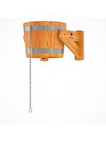 Ведро-водопад из лиственницы d=0,41 h=0,32 Bentwood объём 20 литров для бани и сауны