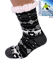 Тапочки-носки с антискользящей поверхностью мужские 40-45р, фото 1