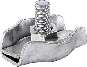 Зажим одинарный Technics для троса и каната 4 мм 40 шт (29-092)