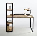 Офисный письменный стол стеллаж NORDIC, фото 8
