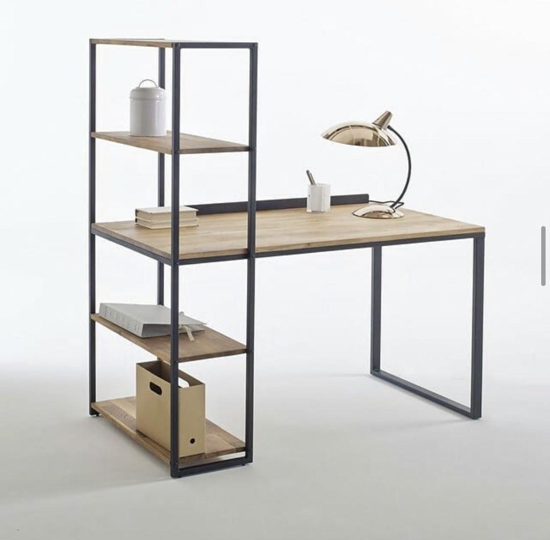 Офисный письменный стол стеллаж NORDIC