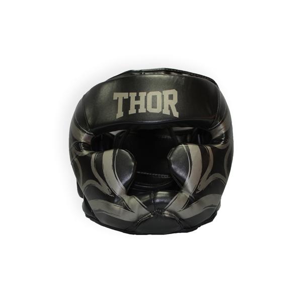 Шлем для бокса THOR COBRA кожа