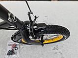 Велосипед детский для мальчиков ardis st 16 beehive чёрный, фото 7
