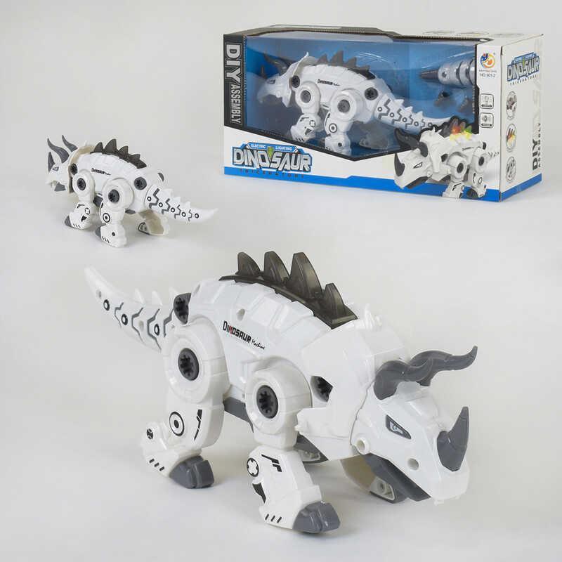 Динозавр 801-2 (32/2) свет, звук, ходит, в коробке