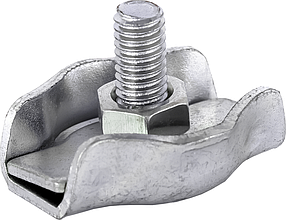 Зажим одинарный Technics для троса и каната 6 мм 25 шт (29-094)