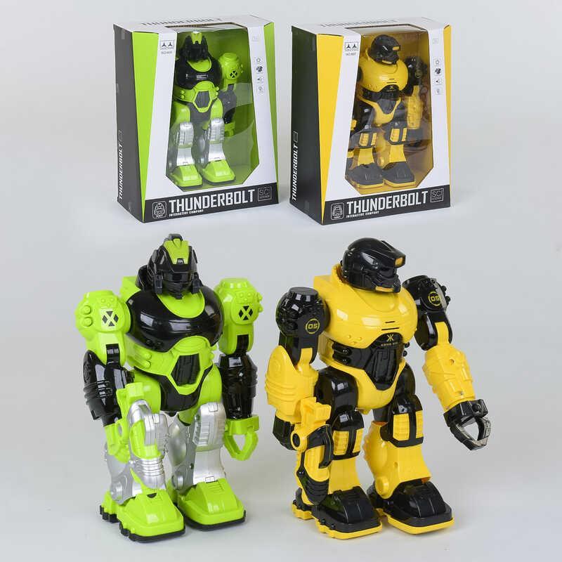 Робот 607 /609 (24/2) 2 вида, световые и звуковые эффекты, в коробке