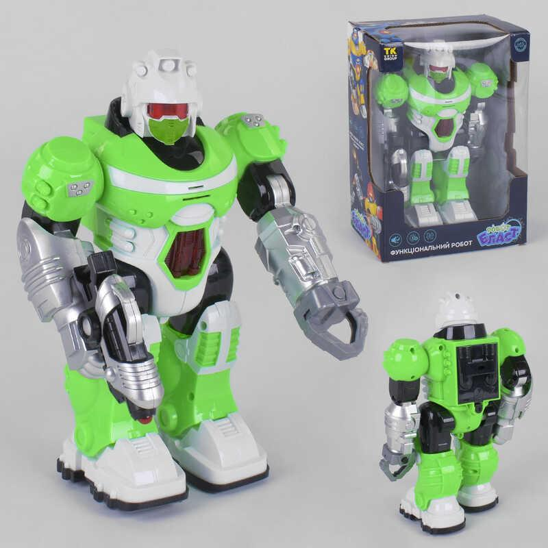 """Робот UKA-A 0103-2 (36) """"TK Group"""" ходит, свет, звук, украинская озвучка, в коробке"""