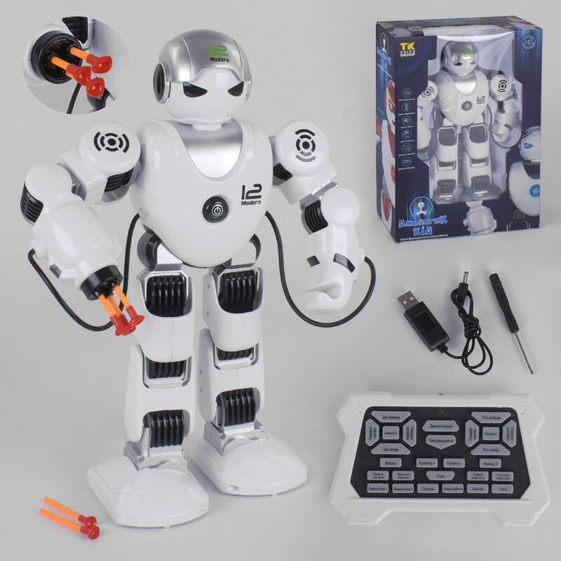 """Робот UKA-A 0104-1 (8) """"TK Group"""" свет, звук, ходит, стреляет, танцует, поет, украинская озвучка, в коробке"""