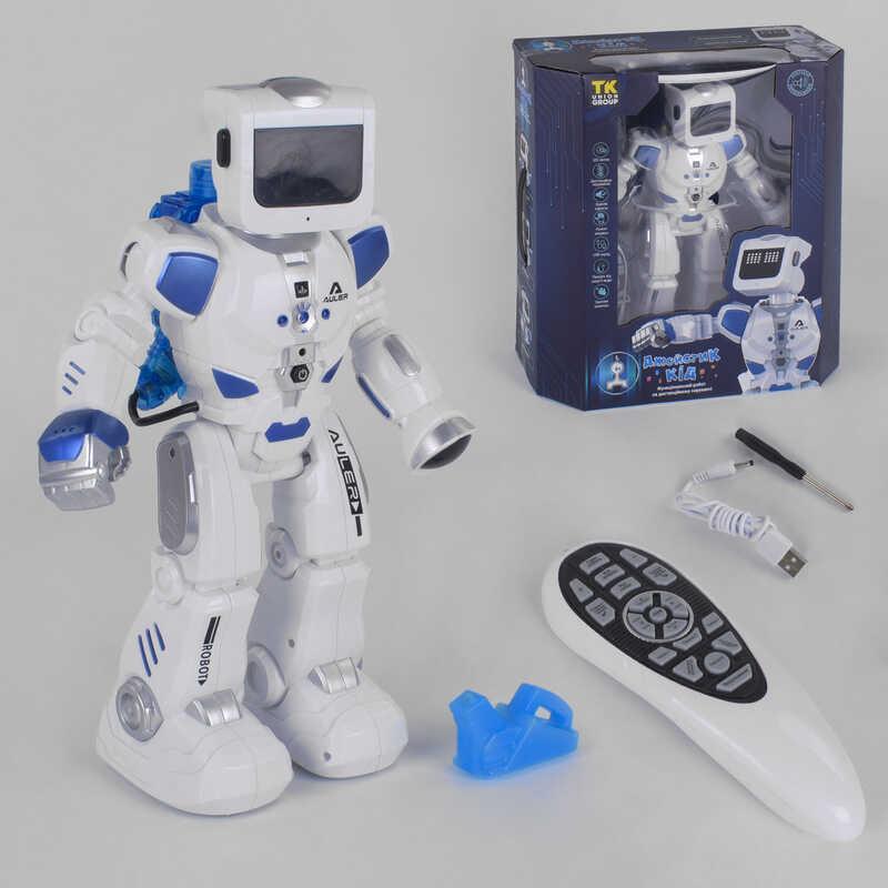 """Робот UKA-A 0105 (8) """"TK Group"""" свет, звук, ходит, танцует, украинская озвучка, в коробке"""