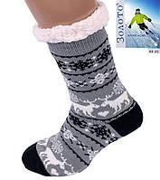 Чоловічі тапочки-шкарпетки з антиковзною поверхнею 41-43 р