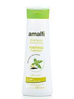 Шампунь очищающий Зеленый чай Amalfi, 400мл