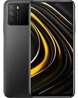 "Смартфон Xiaomi Poco M3 4/64GB Black Global, 48+2+2/8Мп, 2sim, 6.53"", 6000mAh, 4G, Snapdragon 662"
