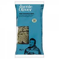 Паста тальятелле зеленая Jamie Oliver, 500г