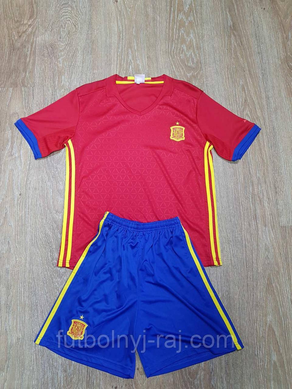 Форма футбольная детская Испания.