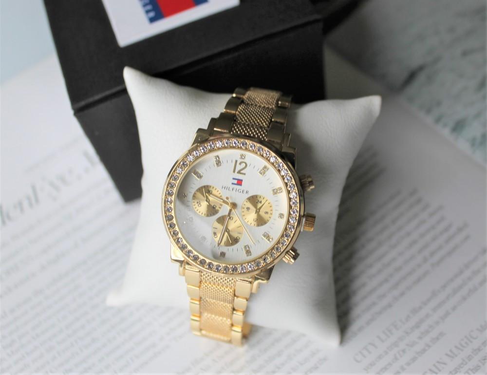 Женские наручные часы Tommy Hilfiger 21883 золотые