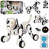 Собака-робот Zoomer 9007A Интерактивная игрушка Собачка на радиоуправлении Зумер 9007А со Светом и Звуком, фото 6