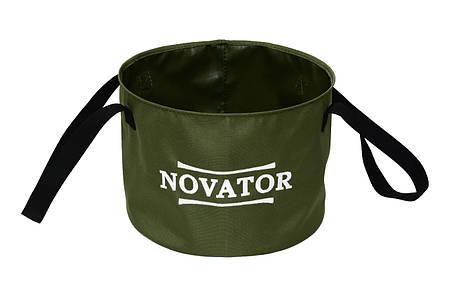 Ведро для прикормки Novator VD-1 (30x23 см), фото 2