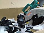 Торцовочная пила с протяжкой 305 мм 2200 вт sturm ms55305bl, фото 2