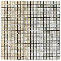 Мраморная мозаика Emperador Light D матовая МКР-4СВ (15x15), фото 4